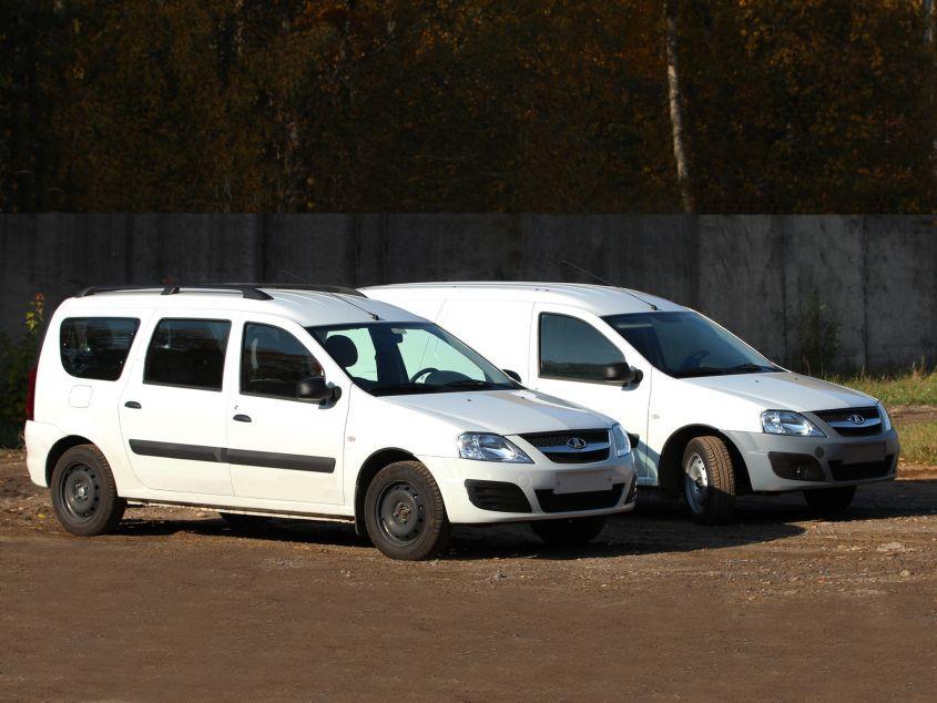 Лада Ларгус: универсал и фургон