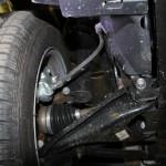 Лада Ларгус: фото передней подвески
