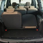 Лада Ларгус: фото багажника в 7-местном варианте