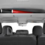Лада Ларгус: фото полки за передними сиденьями