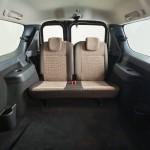 Лада Ларгус: фото третьего ряда сидений